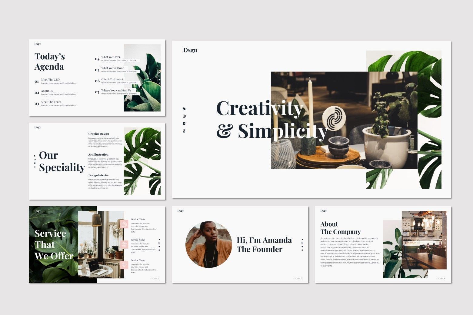 Dsgn - Keynote Template, Slide 2, 07693, Presentation Templates — PoweredTemplate.com