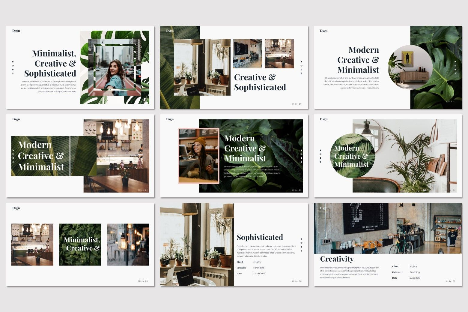 Dsgn - Keynote Template, Slide 6, 07693, Presentation Templates — PoweredTemplate.com