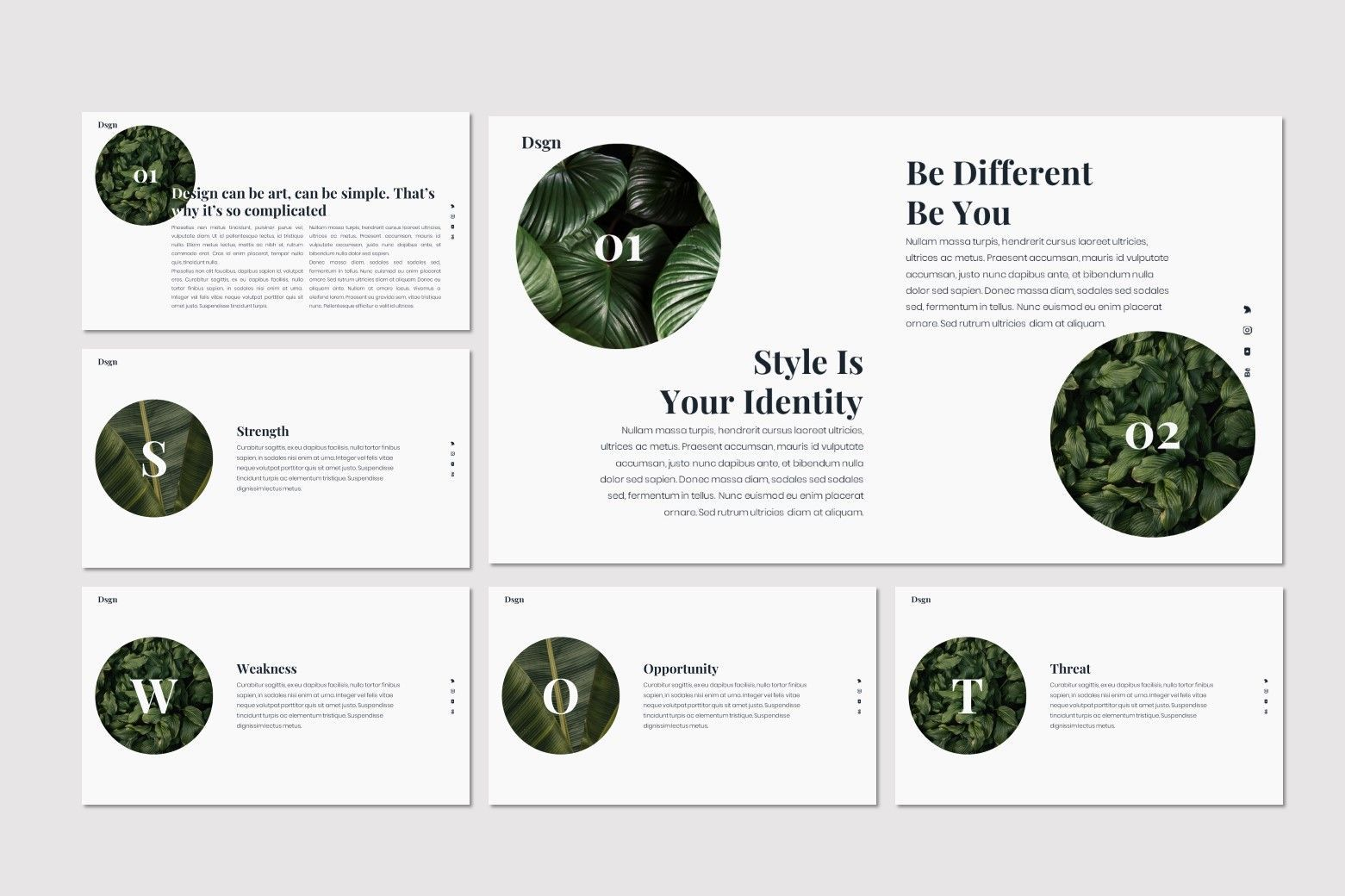 Dsgn - Keynote Template, Slide 8, 07693, Presentation Templates — PoweredTemplate.com