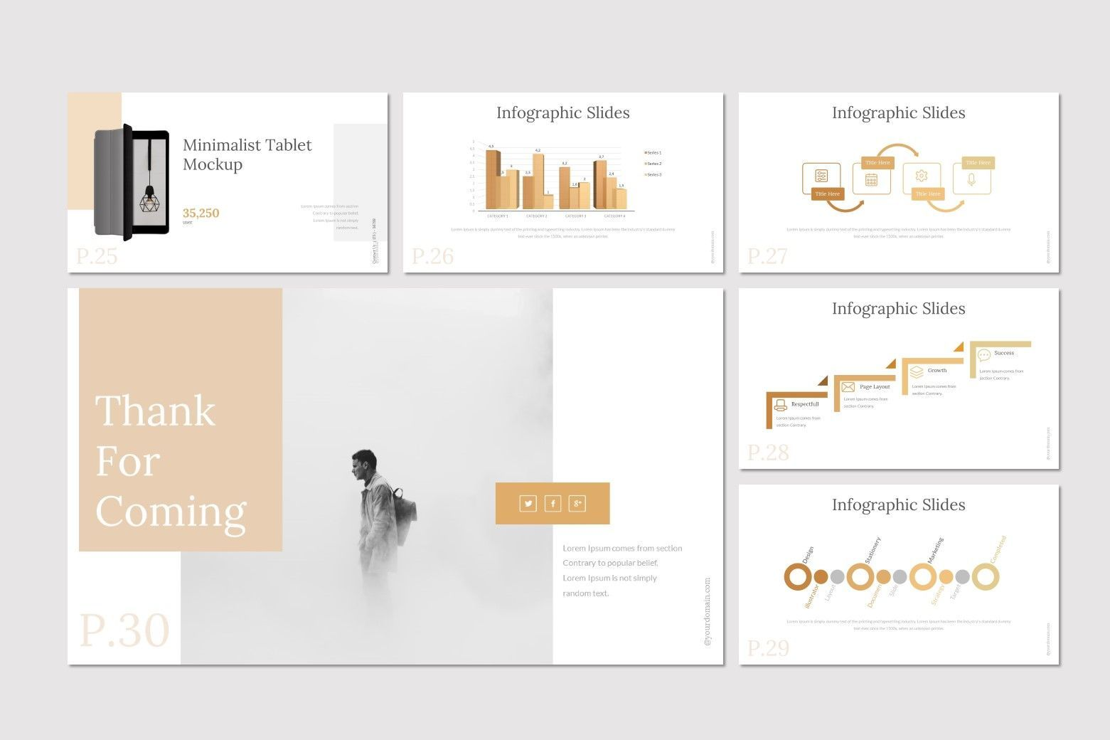 Acax - Google Slides Template, Slide 5, 07694, Presentation Templates — PoweredTemplate.com