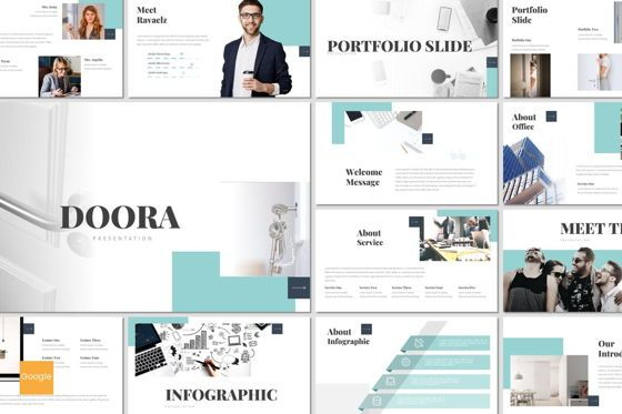 Presentation Templates: Doora - Google Slides Template #07695