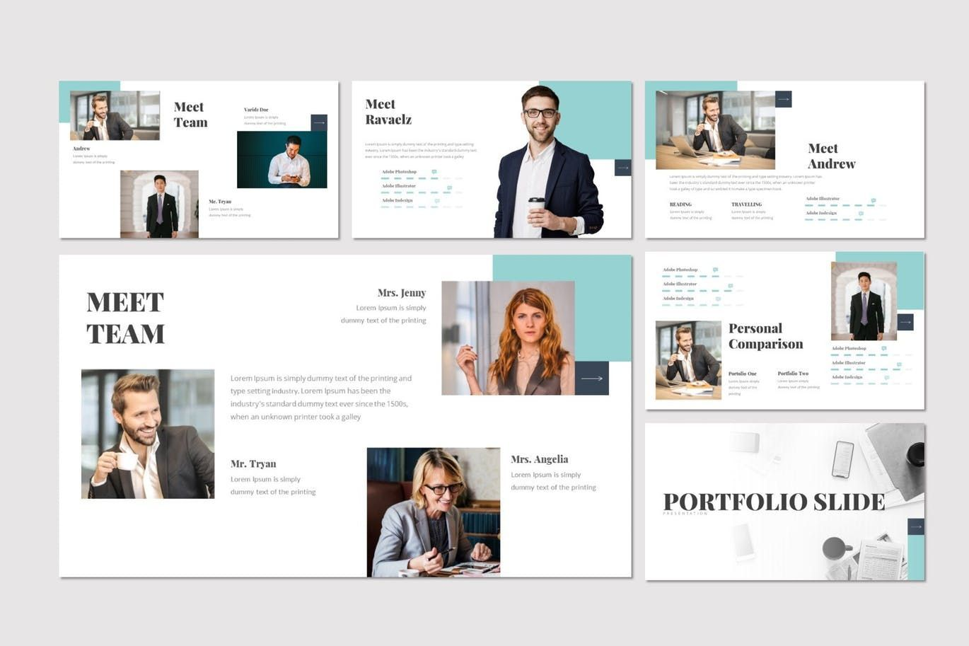 Doora - Google Slides Template, Slide 3, 07695, Presentation Templates — PoweredTemplate.com