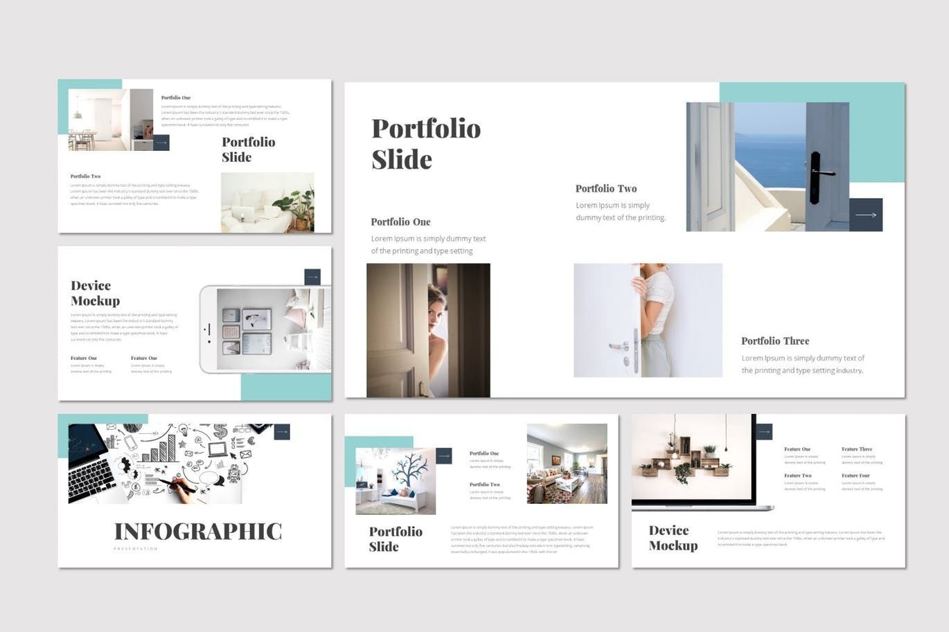 Doora - Google Slides Template, Slide 4, 07695, Presentation Templates — PoweredTemplate.com