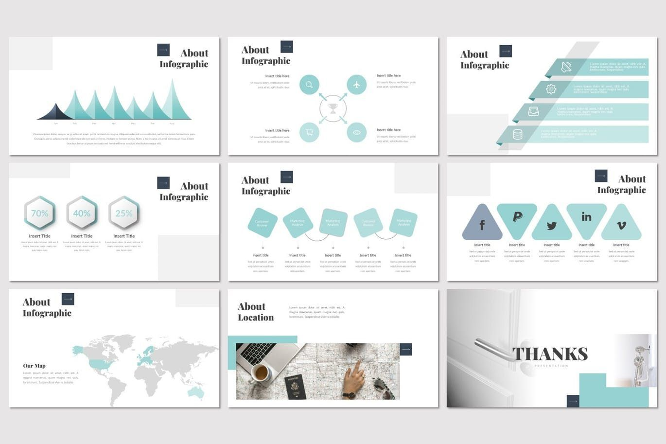Doora - Google Slides Template, Slide 5, 07695, Presentation Templates — PoweredTemplate.com