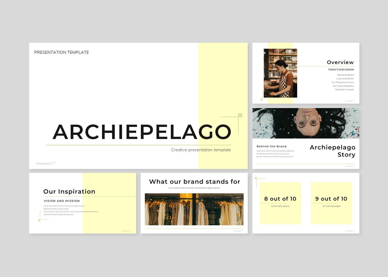 Archiepelago - Powerpoint Template, Slide 2, 07697, Presentation Templates — PoweredTemplate.com