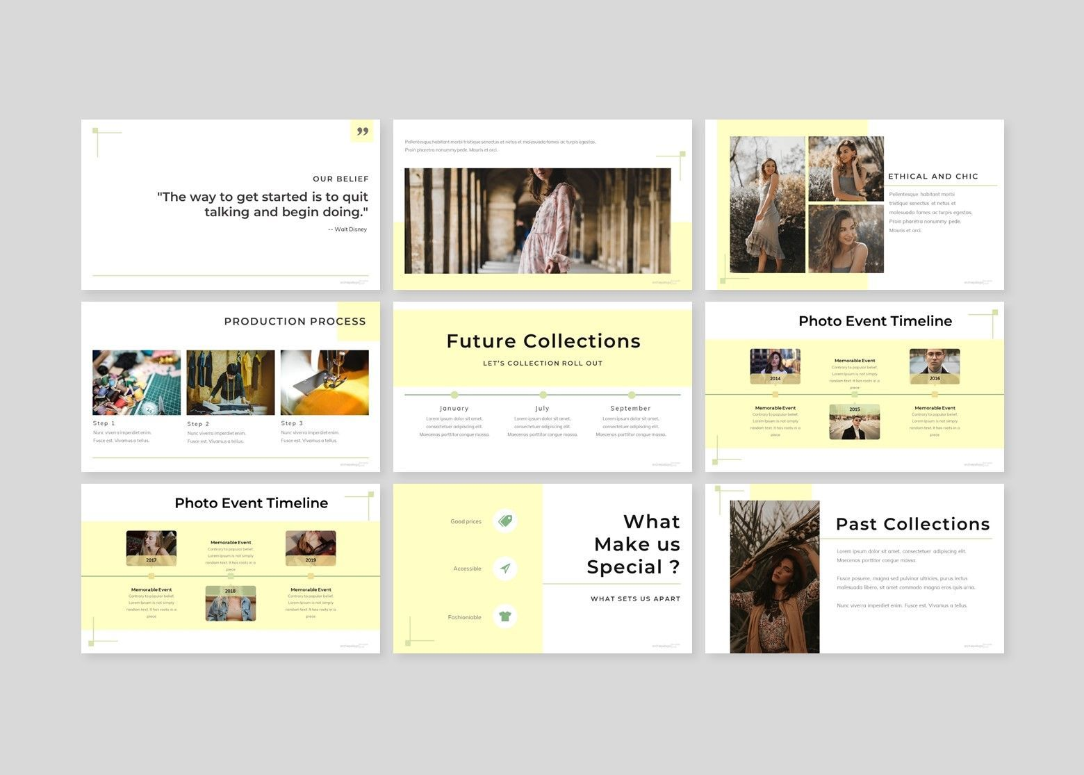 Archiepelago - Google Slides Template, Slide 3, 07701, Presentation Templates — PoweredTemplate.com