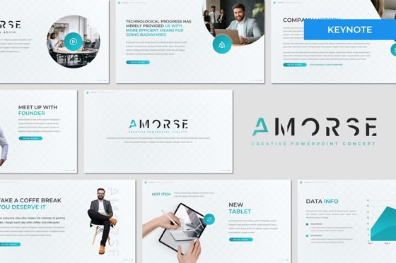 Presentation Templates: Amorse - Keynote Template #07703