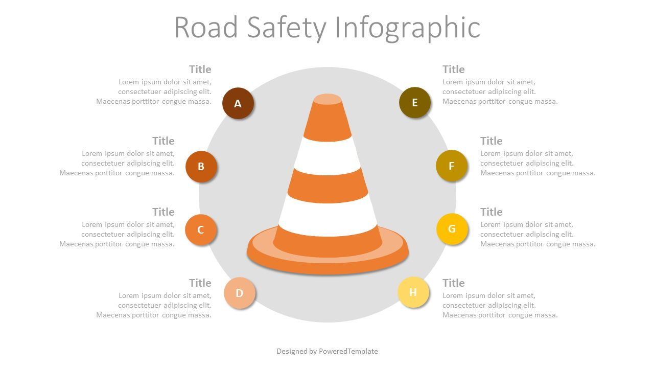 Road Safety Infographic, 07710, Infographics — PoweredTemplate.com
