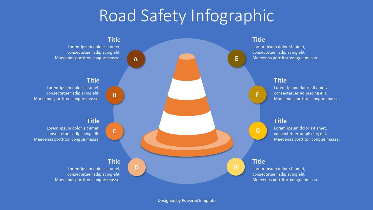 Road Safety Infographic, Slide 2, 07710, Infographics — PoweredTemplate.com