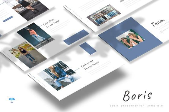 Presentation Templates: Boris - Keynote Template #07712