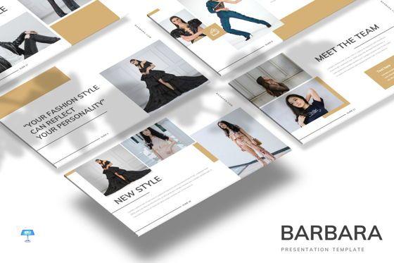 Presentation Templates: Barbara - Keynote Template #07715