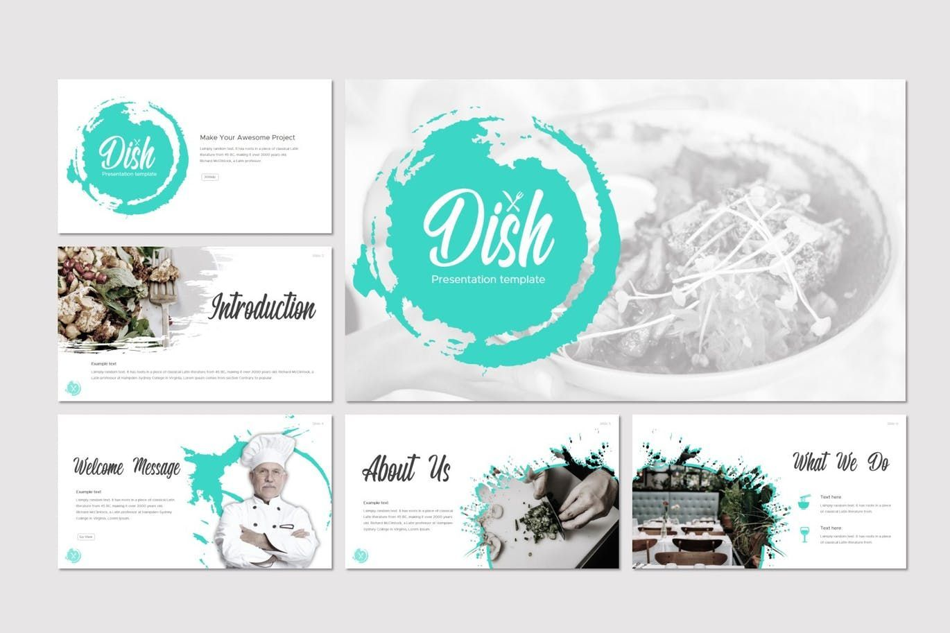 Dish - Google Slides Template, Slide 2, 07724, Presentation Templates — PoweredTemplate.com