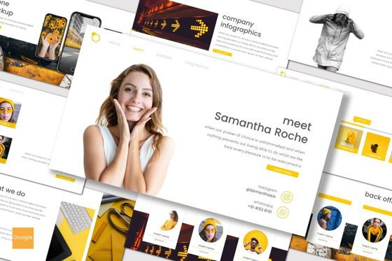Presentation Templates: Intersection - Google Slides Template #07728