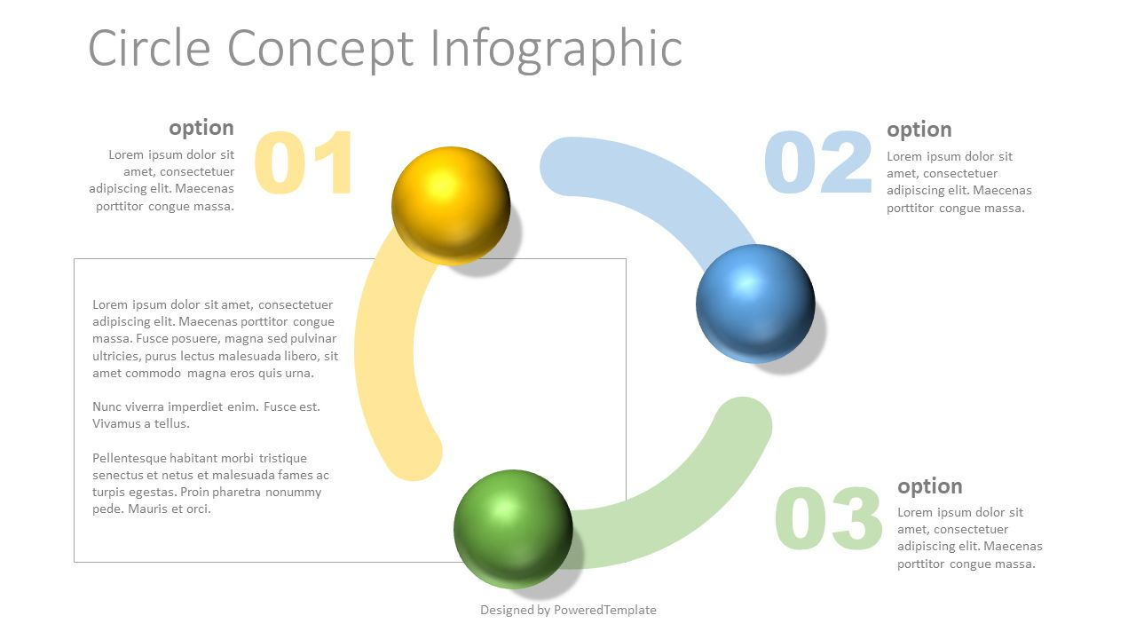 Circle Shape Concept Infographic, Slide 2, 07729, Education Charts and Diagrams — PoweredTemplate.com