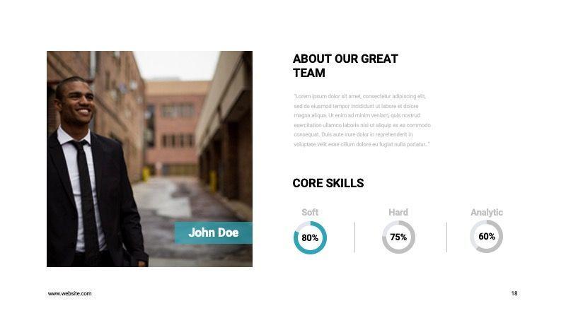 COPE Business Powerpoint Template, Slide 18, 07730, Presentation Templates — PoweredTemplate.com