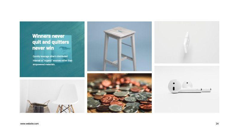 COPE Business Powerpoint Template, Slide 24, 07730, Presentation Templates — PoweredTemplate.com