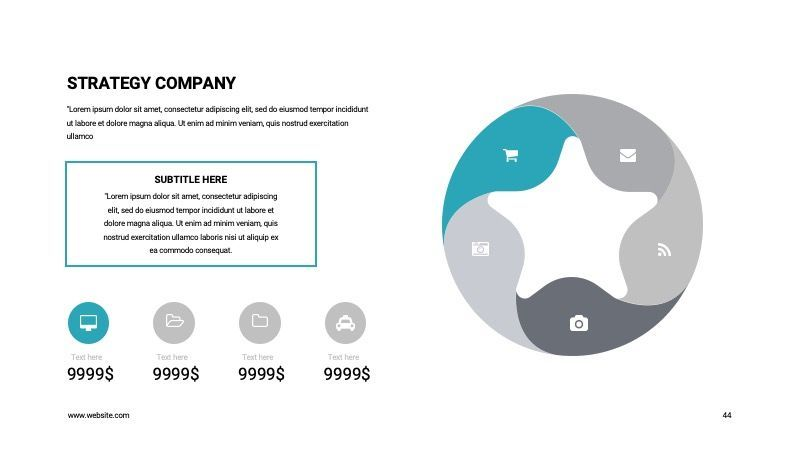 COPE Business Powerpoint Template, Slide 44, 07730, Presentation Templates — PoweredTemplate.com