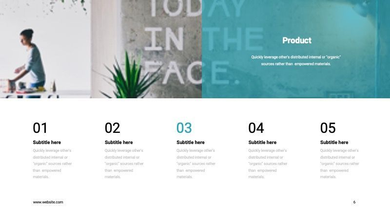 COPE Business Powerpoint Template, Slide 6, 07730, Presentation Templates — PoweredTemplate.com