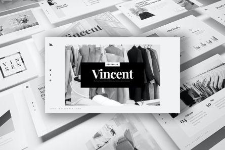 Graph Charts: Vincent PowerPoint Presentation #07731