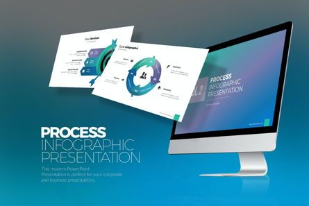 Business Models: Process Infographic Vol 2 PPTX #07732