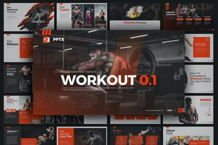 Business Models: WORKOUT 0 1 PowerPoint Presentation #07734