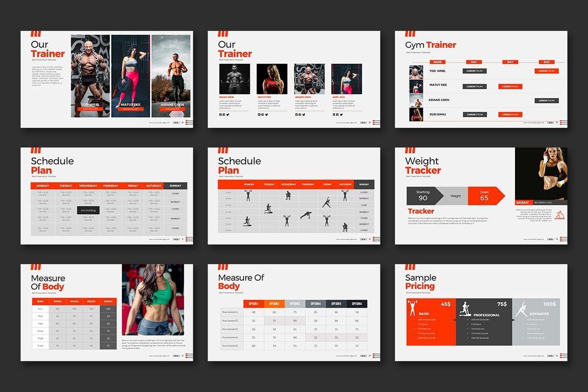 WORKOUT 0 1 PowerPoint Presentation, Slide 5, 07734, Business Models — PoweredTemplate.com