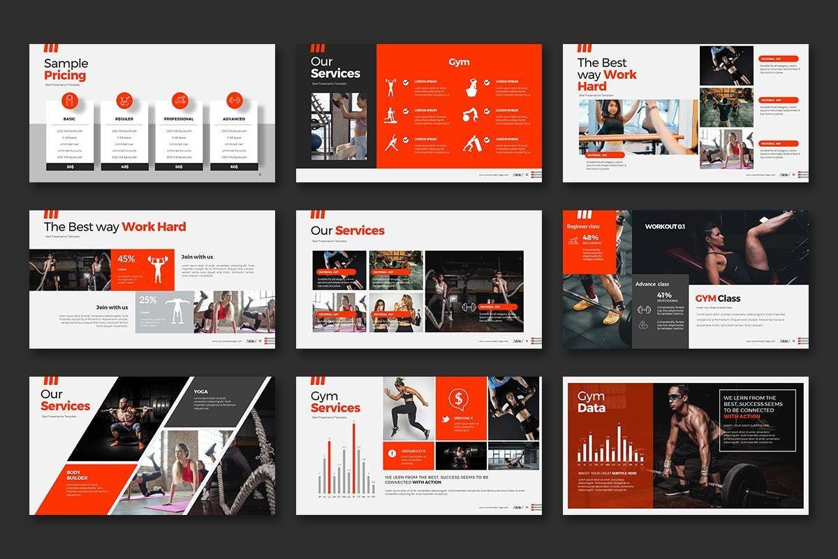 WORKOUT 0 1 PowerPoint Presentation, Slide 6, 07734, Business Models — PoweredTemplate.com