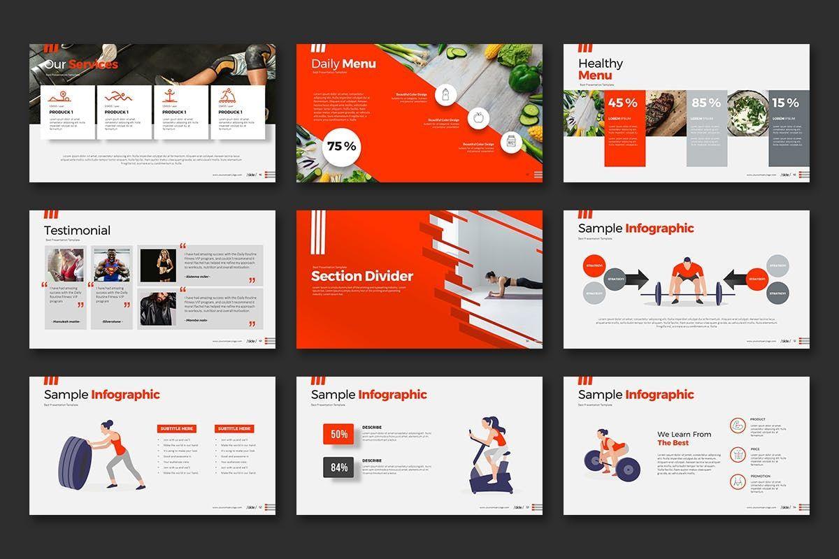 WORKOUT 0 1 PowerPoint Presentation, Slide 7, 07734, Business Models — PoweredTemplate.com