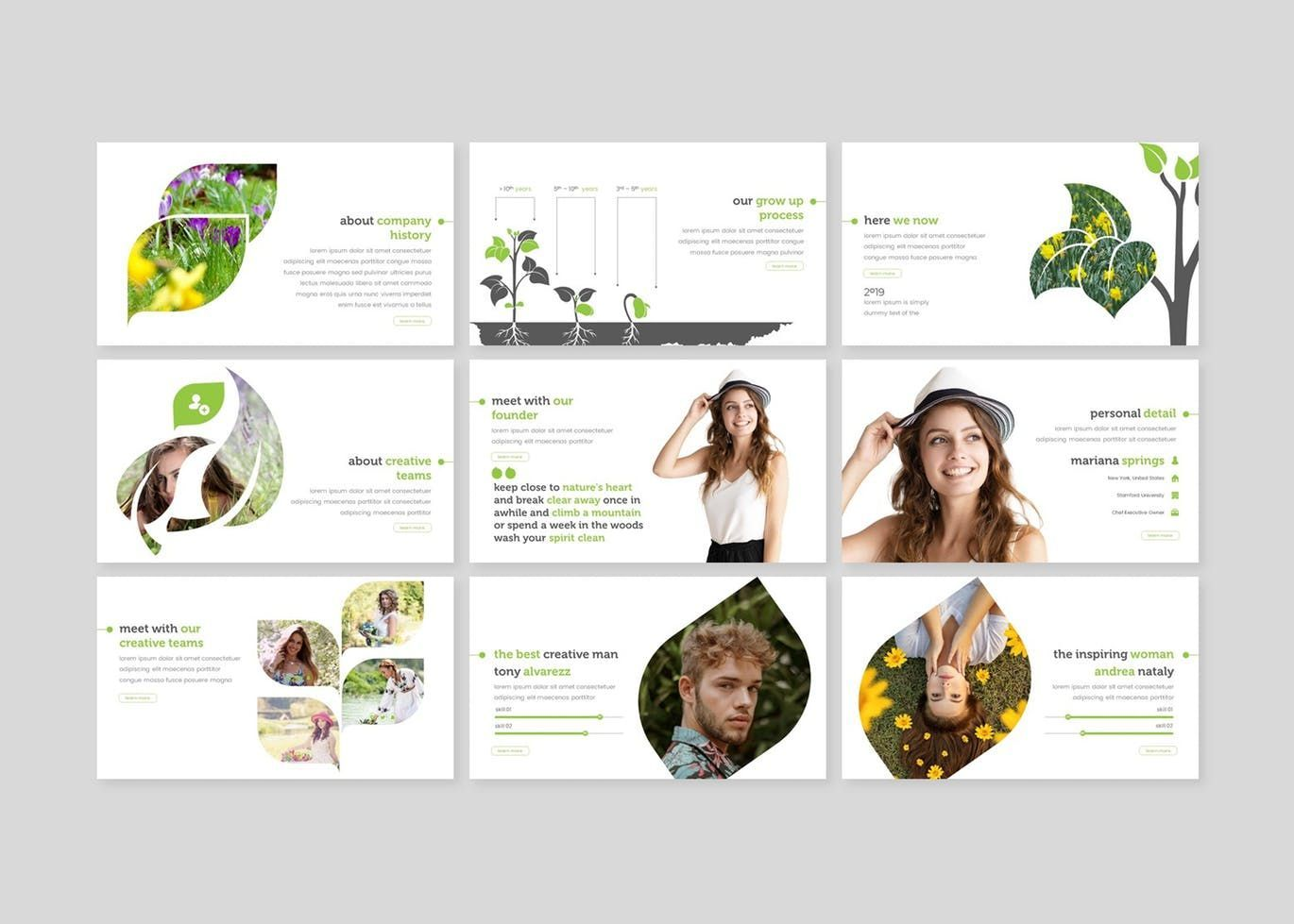 Inspring - Google Slides Template, Slide 3, 07738, Presentation Templates — PoweredTemplate.com