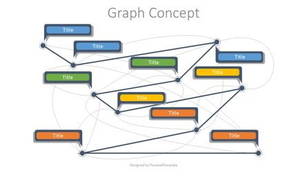 Graph Charts: Graph Concept Diagram #07739