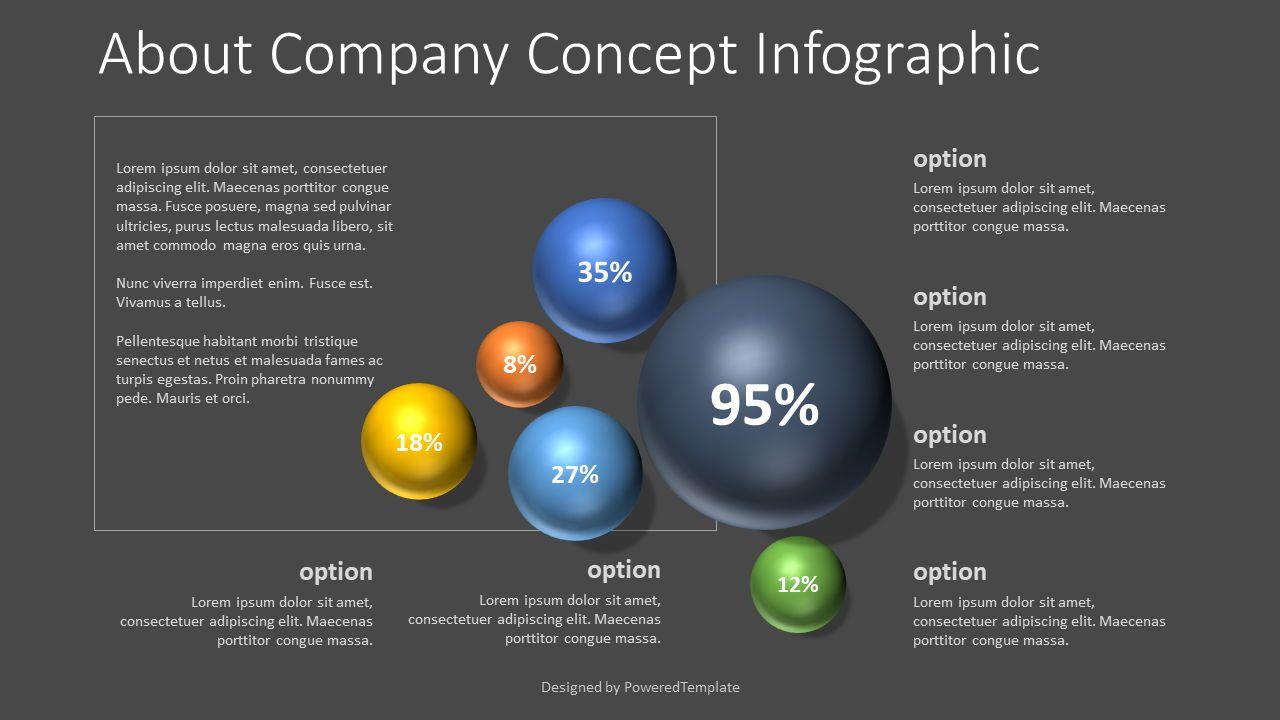 About Company Concept, 07740, Infographics — PoweredTemplate.com