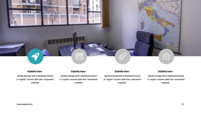 COPE Business GoogleSlide Template, Slide 12, 07741, Presentation Templates — PoweredTemplate.com