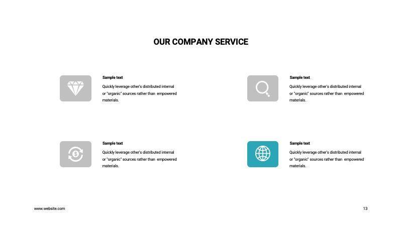 COPE Business GoogleSlide Template, Slide 13, 07741, Presentation Templates — PoweredTemplate.com