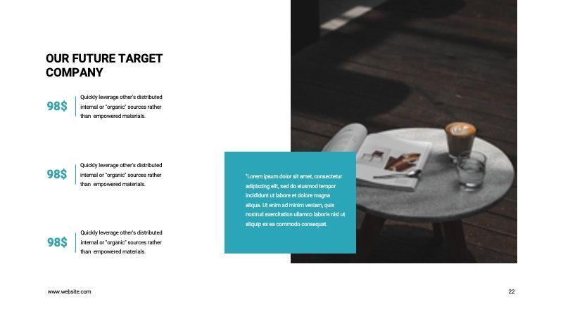 COPE Business GoogleSlide Template, Slide 22, 07741, Presentation Templates — PoweredTemplate.com