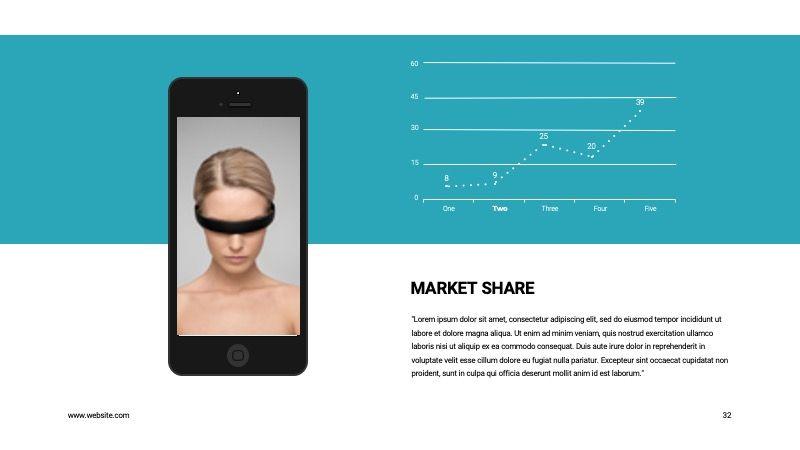 COPE Business GoogleSlide Template, Slide 32, 07741, Presentation Templates — PoweredTemplate.com