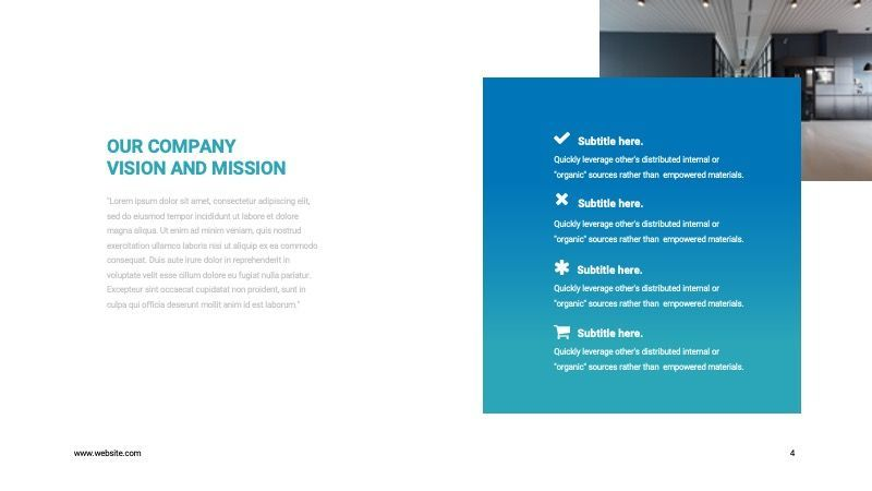 COPE Business GoogleSlide Template, Slide 4, 07741, Presentation Templates — PoweredTemplate.com