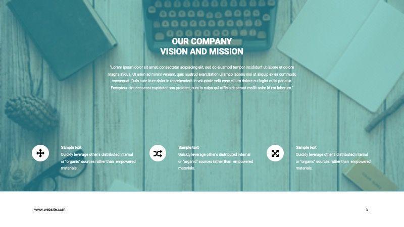 COPE Business GoogleSlide Template, Slide 5, 07741, Presentation Templates — PoweredTemplate.com
