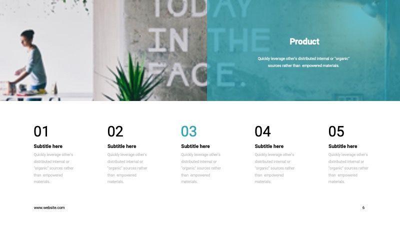COPE Business GoogleSlide Template, Slide 6, 07741, Presentation Templates — PoweredTemplate.com