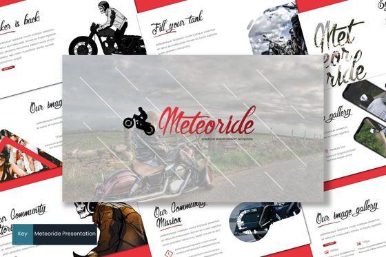 Presentation Templates: Meteoride - Keynote Template #07744
