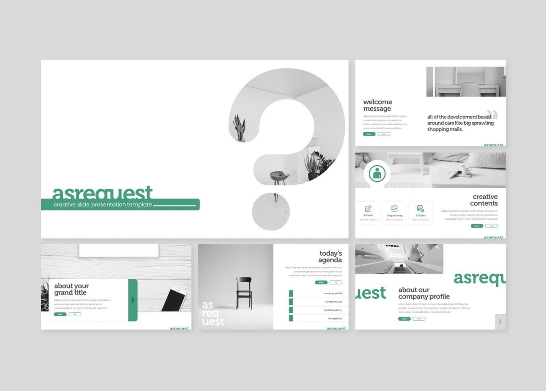 Asrequest - PowerPoint Template, Slide 2, 07746, Presentation Templates — PoweredTemplate.com