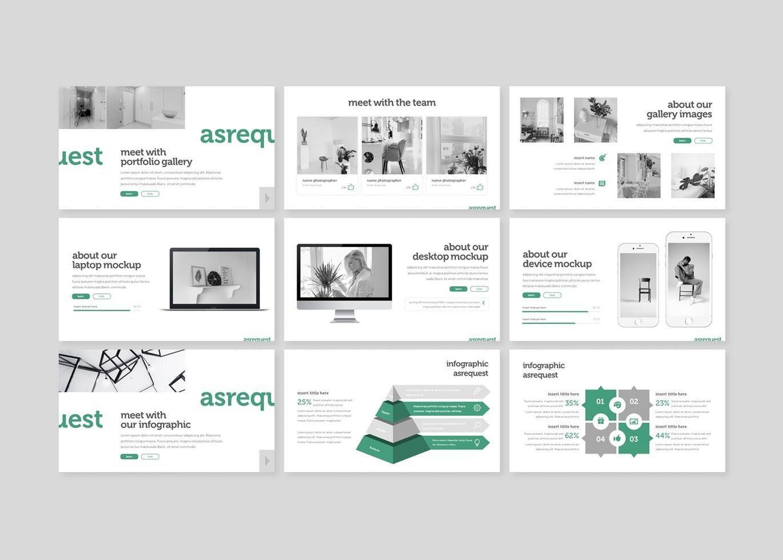 Asrequest - PowerPoint Template, Slide 4, 07746, Presentation Templates — PoweredTemplate.com