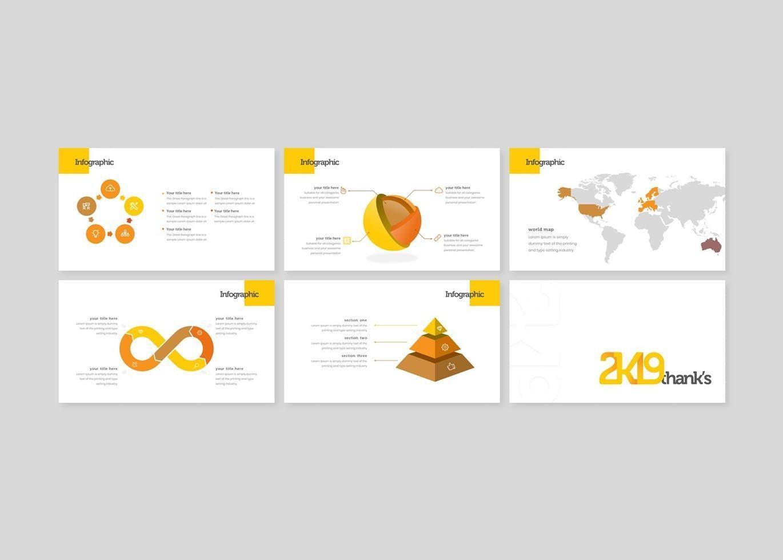 2k19 - PowerPoint Template, Slide 5, 07747, Presentation Templates — PoweredTemplate.com