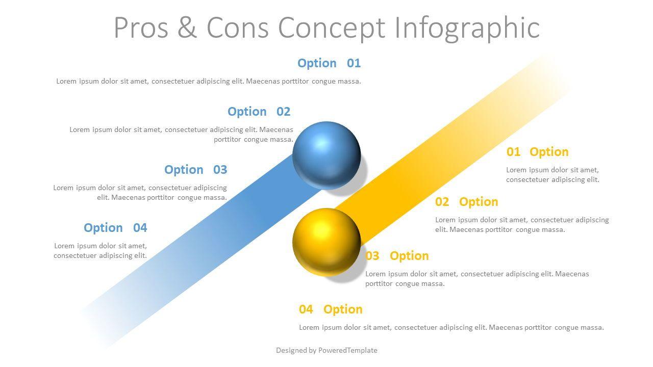 Pros and Cons Concept, Slide 2, 07748, Infographics — PoweredTemplate.com