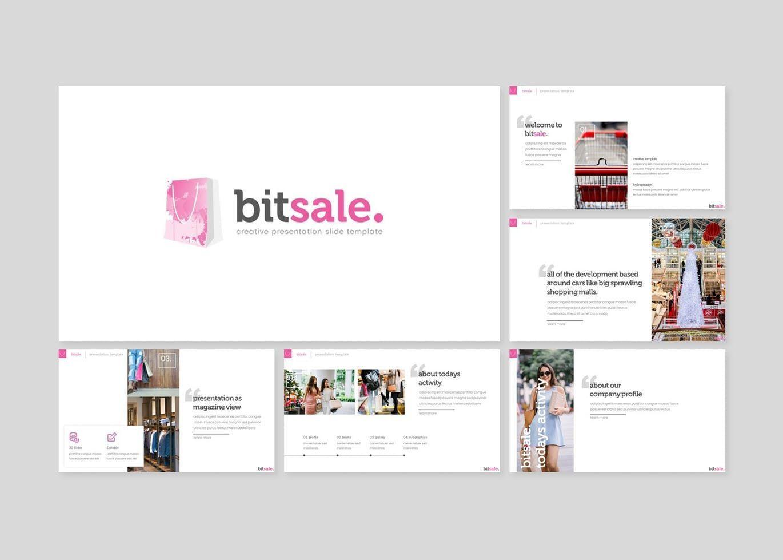 Bitsale - Keynote Template, Slide 2, 07749, Presentation Templates — PoweredTemplate.com