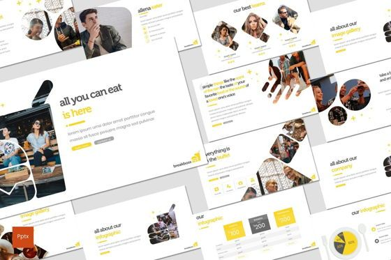 Presentation Templates: Breakboss - PowerPoint Template #07750