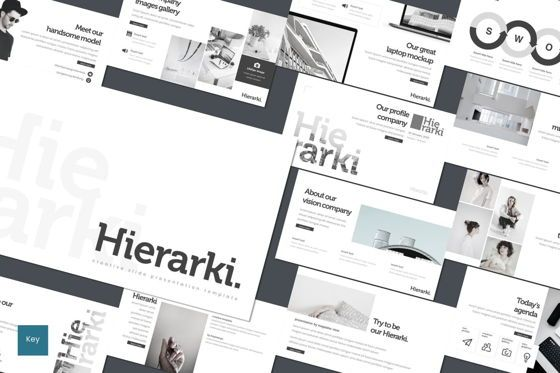 Presentation Templates: Hierarki - Keynote Template #07751