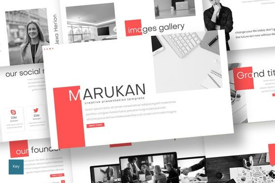 Presentation Templates: Marukan - Keynote Template #07753