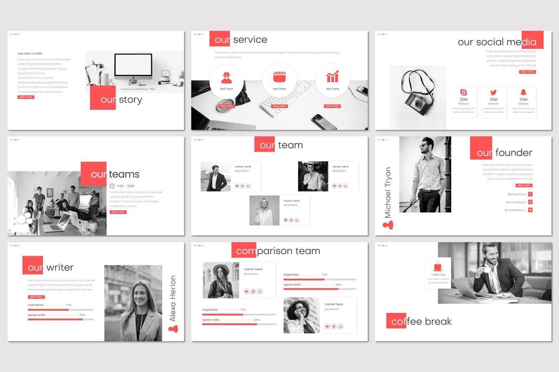 Marukan - PowerPoint Template, Slide 3, 07756, Presentation Templates — PoweredTemplate.com