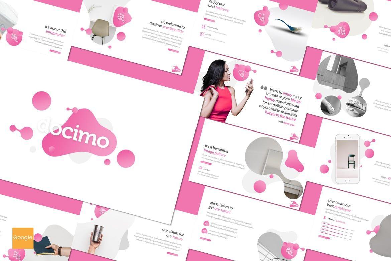 Docimo - Google Slides Template, 07757, Presentation Templates — PoweredTemplate.com