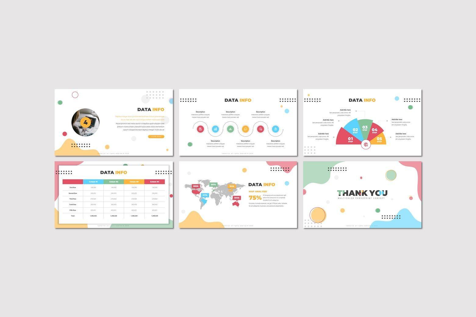 Castarica - Powerpoint Template, Slide 4, 07760, Presentation Templates — PoweredTemplate.com